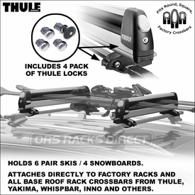 Thule 92726 Universal Pull Top Ski Rack-Snowboard Rack Now Available