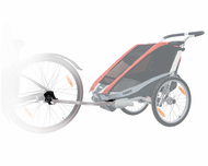 Thule Bicycle Trailer Kit for CX, Cheetah, & Cougar Carriers