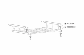 Thule 8591 & 8591xt Canyon Roof Basket Extension Available Parts