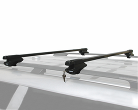 Thule Complete Crossroads Railing Roof Rack Kit with Locks