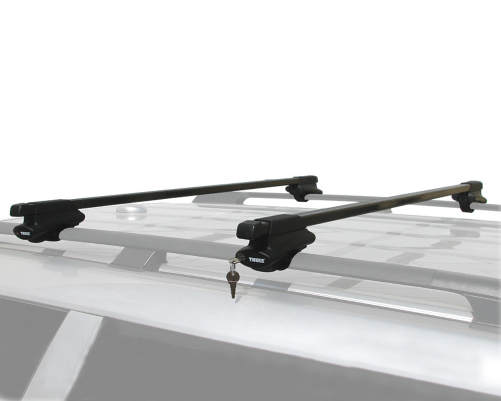 Thule Complete Crossroads Railing Roof Rack Kit With Locks ...