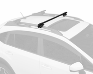 Thule Crossroad Half Pack Roof Rack System 450