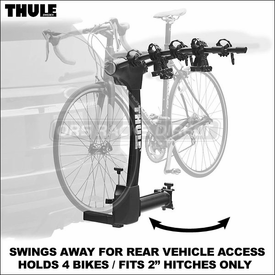 Thule Racks Vertex Hitch Mount Bike Rack Series - 9031 9030 9029 9028