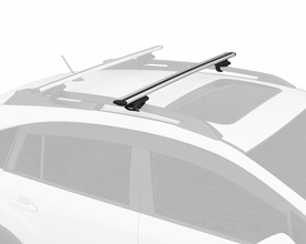 Thule Rapid Crossroad Half Pack Roof Rack System 450R