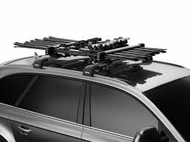 Thule 7326 Snowpack Ski/Snowboard Carrier for 6 Pairs of Skis or 4 Snowboards