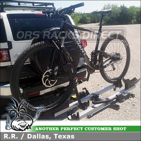 Thule T2 Platform Hitch Bike Rack for 2011 Toyota FJ Cruiser Trailer Hitch