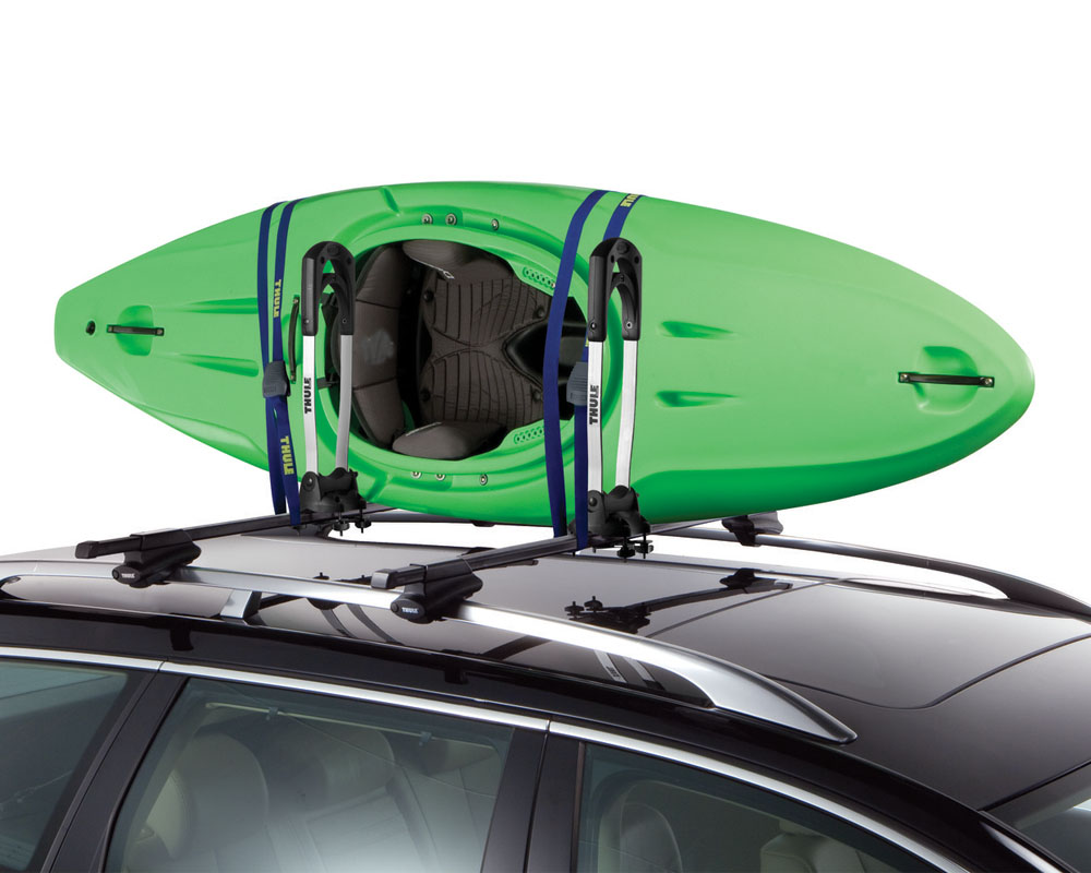 Kayak Roof Rack For Two Thule The Stacker Kayak Rack 830 - ORSracksdirect.com
