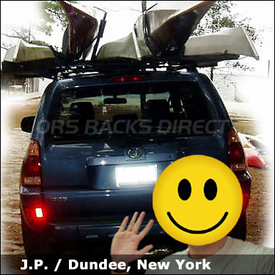 Toyota 4Runner Roof Rack for Kayaks with Thule 450 Crossroad System & 835XTR Kayak Carriers