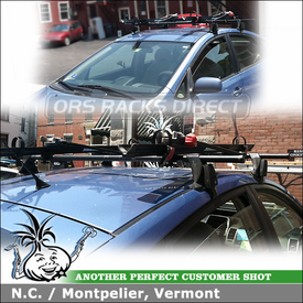 Toyota Prius Bike Roof Rack Customer Installation