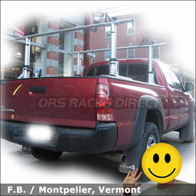Toyota Tacoma Pickup Truck Rack with Thule 422XT Xsporter