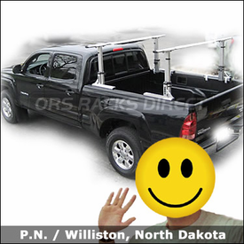 Toyota Tacoma Truck Rack with Thule 422XT Xsporter Truckbed Rack System