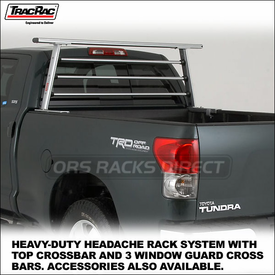 TracRac CabRac Headache Rack for Pickup Truckbeds