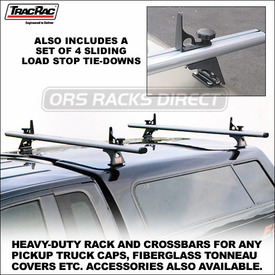 TracRac CapRac Truck Rack for Camper Shells, Caps, Toppers, Fiberglass Tonneau Covers etc.