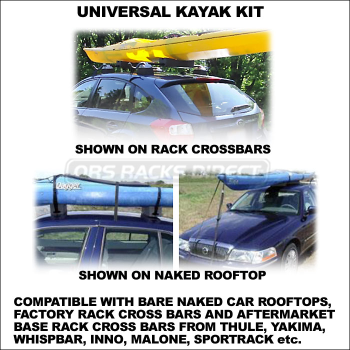 ... Seattle Sports Riverside Universal Kayak Blocks Kit