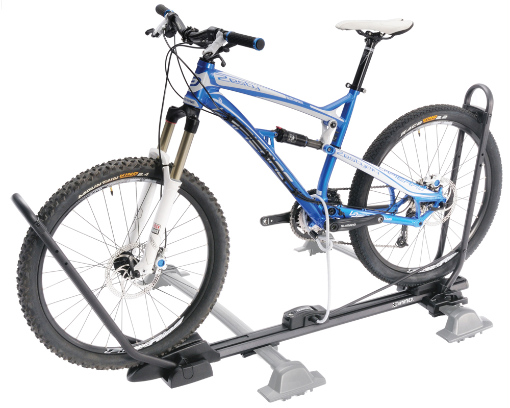 ... Inno INA389 Universal Tire Hold 2 Roof Mount Bike Rack
