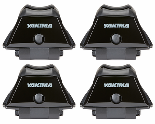 Yakima SkyLine Towers for Factory Fixed Points, Tracks, or Custom Installations (4-Pack)