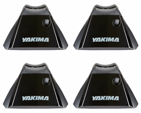Yakima BaseLine Towers for Car Roof Rack on Naked Rooflines (4 -Pack)