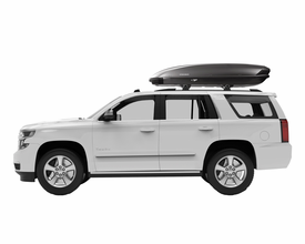 Yakima ShowCase 20 Ski Cargo Box – 20 Cubic Foot