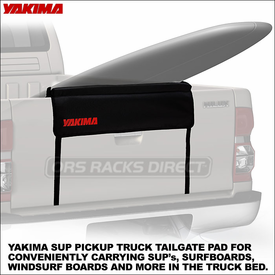 Yakima TailGate Pad Truck Rack for Boats, Boards, & SUPs Now Available