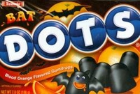 Bat Dots Halloween Candy