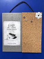 Cafe De Paris  Sign and Bulletin Board