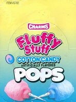 Charms Cotton Candy Pops