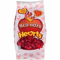 Chewy Red Hots Cinnamon Hearts