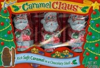 Chocolate Santa's Filled With Caramel