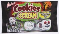 Cookies And Scream Chocolate Skull  Candy