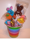 Easter Lollipop Gift Basket