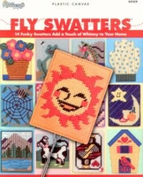 Fly Swatter Covers in Plastic Canvas