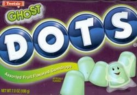Ghost Dots Halloween Candy
