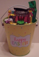 Happy Easter Basket - Candy Filled Easter Basket