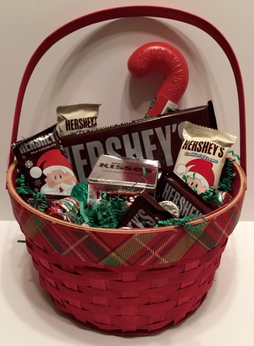 Hershey Candy Christmas Gift Basket