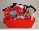 Hershey Hugs and Kisses Valentine Gift Basket