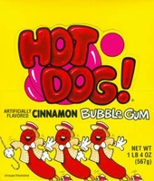 Hot Dog  Gum