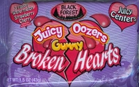 Juicy Oozers Gummy Broken Hearts