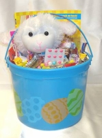 Kids Candy Filled Easter Basket With Stuff Toy