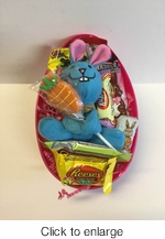 Large Candy And Toy Filled Easter Egg