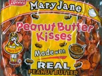 Mary Jane Peanut Butter Kisses