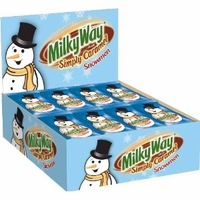 Milk Way Simply Caramel Snowmen