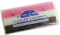 Neapolitan Coconut Slice Candy