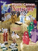 Plastic Canvas Nativity Pattern book