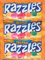 Razzles Tropical  Gum, Razzles Candy