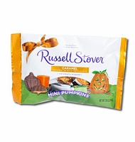 Russell Stover Caramel Pumpkins  Mini