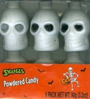 Skulls Filled With Powdered Candy