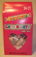 Smarties Love Hearts