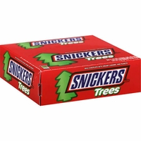 Snickers Trees Candy Bars