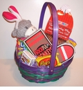 Sock Monkey Easter Basket