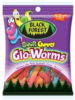 Sour Gummy Glo Worms